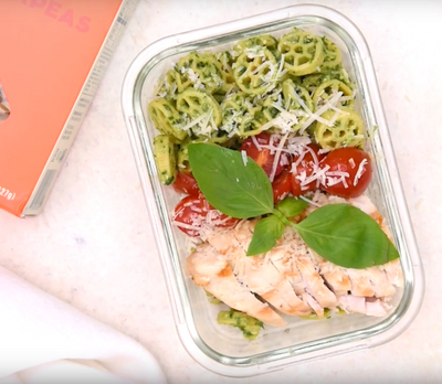 Pesto Wheels Meal Prep