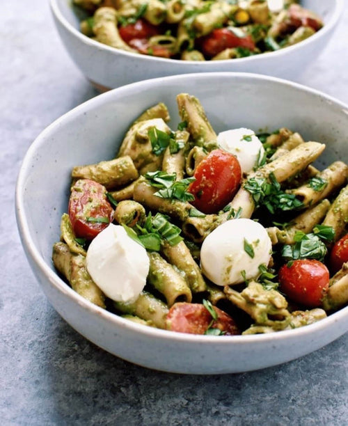 Summer Spinach Caprese