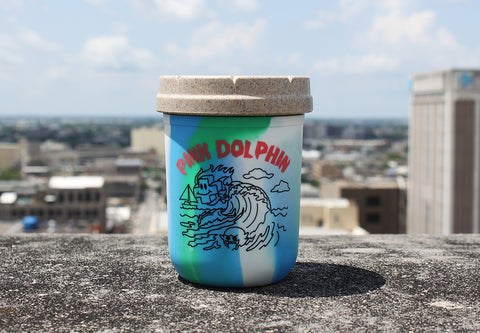 8oz Pink Dolphin Tie-Dye Re:stash (Includes a Re:vider)