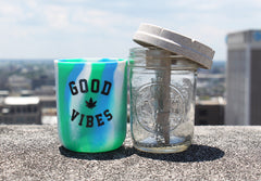 "8oz Ocean Tie-Dye ""Good Vibes"" Re:Stash (Includes a Re:vider and Boveda)"