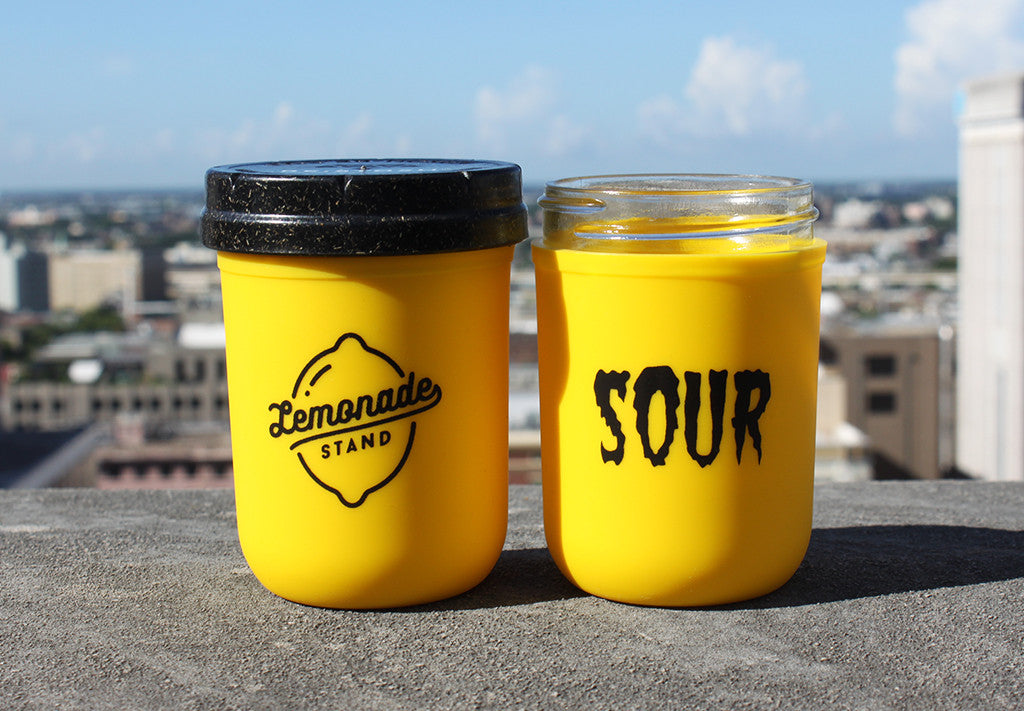 8oz Lemonade Stand X Re:stash 'Sour Stash' Jar