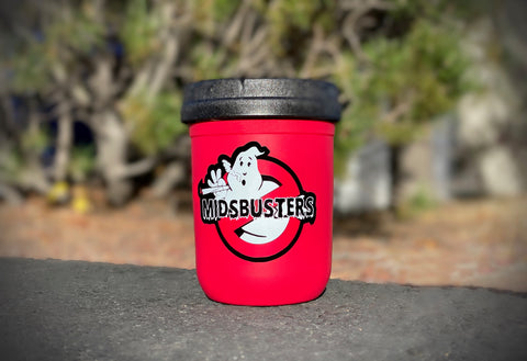 MIDSBUSTERS GHOSTED TAMPER RESISTANT JAR