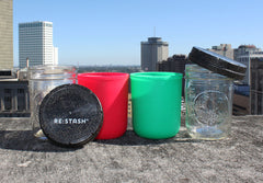 Re:stash Jar Gift Set: Christmas 2 Pack + 2 Re:viders