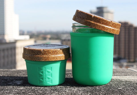 Green 4oz + 8oz Re:stash Jar Gift Set