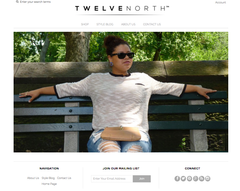Twelve North Plus Size Clothing Homepage
