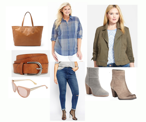 plus size reese witherspoon casual chic outfit
