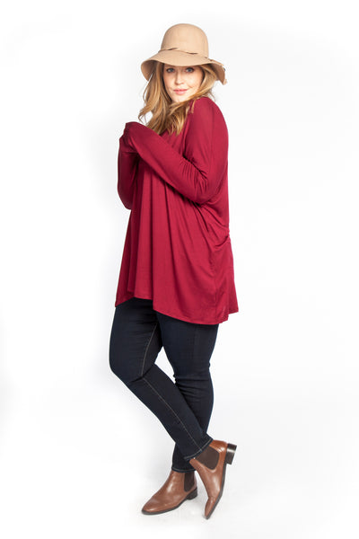 Dolman Long Sleeve Sleeve Top