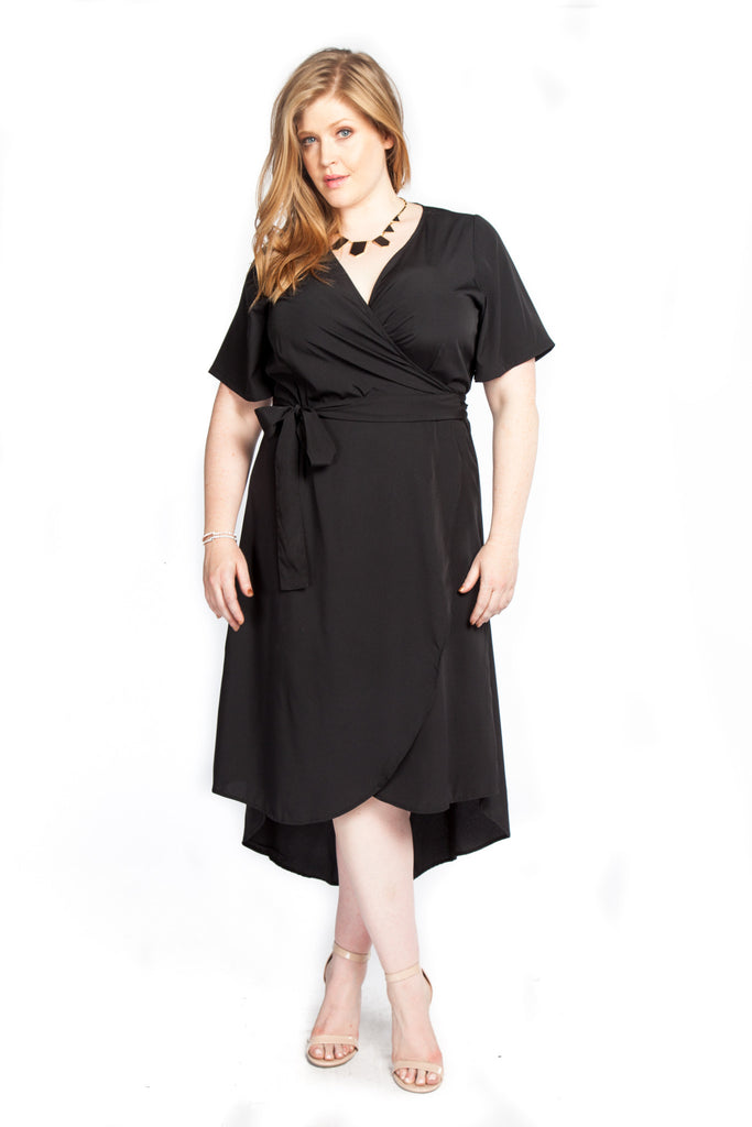 Twelve North Wrap Dress