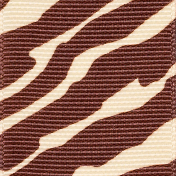 Zebra (brown & cream)