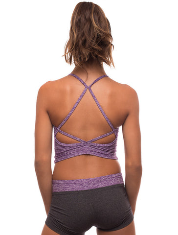 Ktrna Amethyst Diamond Back Top