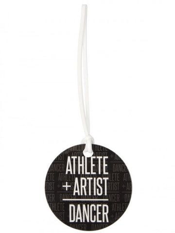 Athlete + Artist Luggage tag