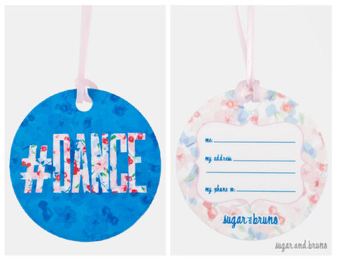 Keltie #Dance Luggage Tag