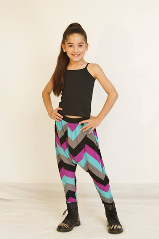 Gypsy Chevron Harem Pants