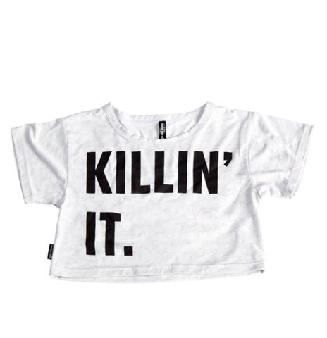 Killin' it Crop Tee