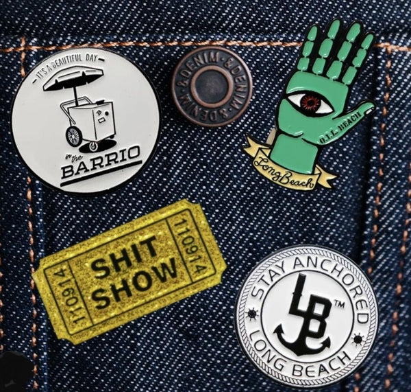 Limited Edition Long Beach Pin Pack