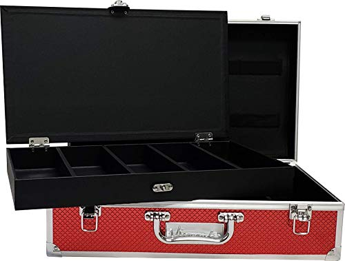 Master Case Barber Stylist Junior Travel Case, Red