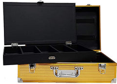 Master Case Barber Stylist Junior Travel Case, Gold