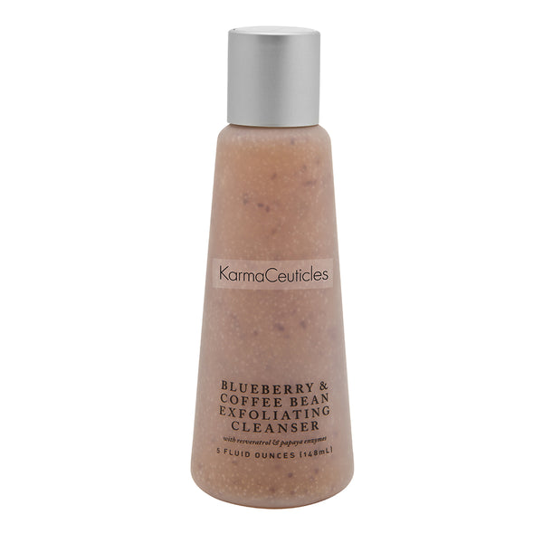 BlueBerry & Coffee Bean Exfoliating Cleanser, 5 oz.