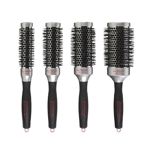 "Olivia Garden Pro Thermal Brush Box Deal (contains 1 each: T-25 1"", T-33 1 1/4"", T-43 1 3/4"", T-53 2 1/4"")"