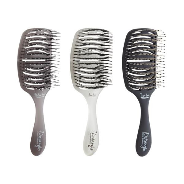 Olivia Garden iDetangle Brush Box Deal:  contains 1 each:  ID-MH, ID,FH, ID-TH