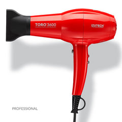 Izutech Toro3600 Tourmaline Ceramic Nano Technology Hair Dryer, Red
