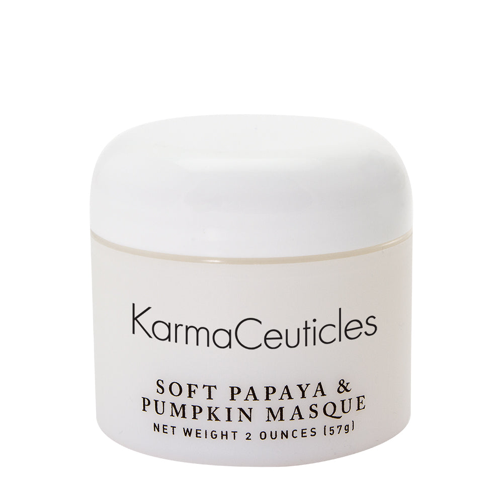 Soft Papaya & Pumpkin Masque, 2 oz.