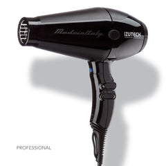 Izutech TRX4000 Italian 2000W Quiet Hair Dryer, Black