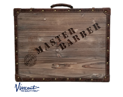 Vincent Master Case, Nostalgic Barber Case, Wood