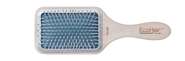 EcoHair Eco-Friendly Bamboo Paddle Brush