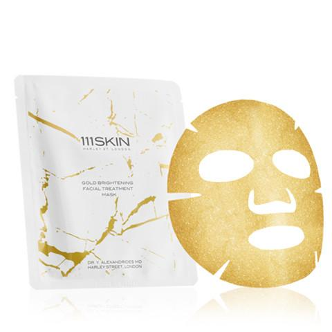 Gold Brightening Facial Treatment Mask Box, 5