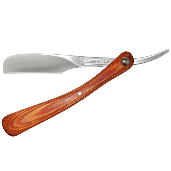 Jatai Feather Artist Club DX Folding Razor, Wood Handle