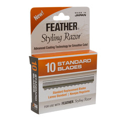 Jatai Feather Replacement Blades, Styling Razor, 10