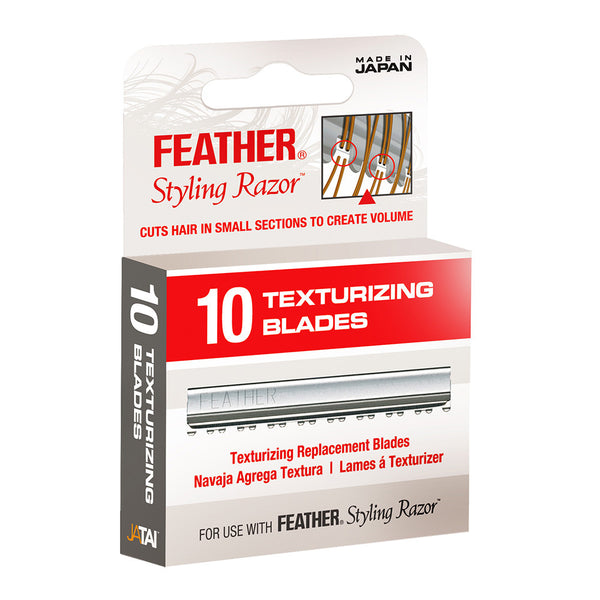 Jatai Feather Replacement Blades, Texturizing, 10