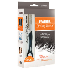 Jatai Feather Styling Razor Intro Kit, Black, 7.25