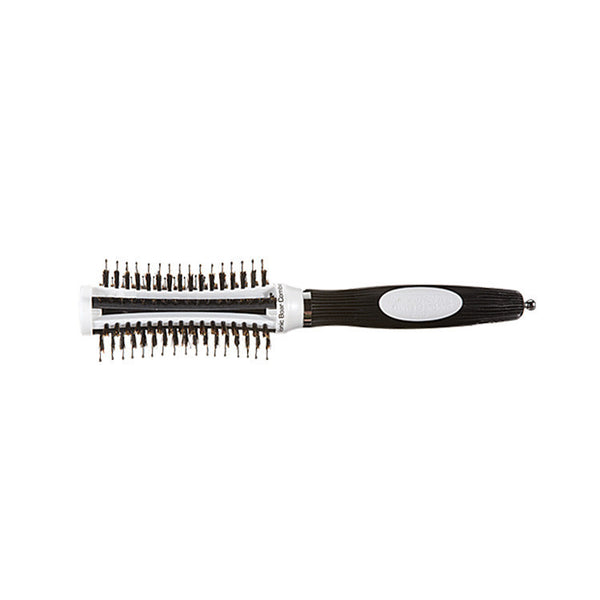 Olivia Garden Thermoactive Ionic Boar Combo Brush, 1 3/4 Inch
