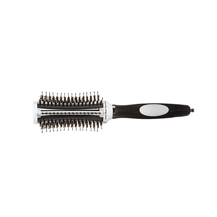 Olivia Garden Thermoactive Ionic Boar Combo Brush, 2 1/4 Inch