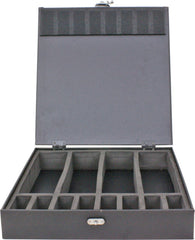 Vincent Master Barber Case, Medium, Silver
