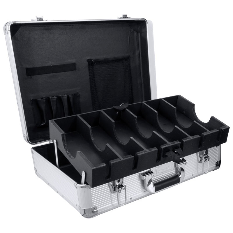 Vincent Master Barber Case, Large, Silver
