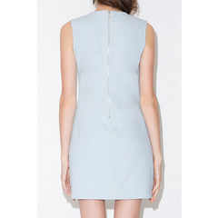 Light Blue Hummingbird Shift Dress Dresses, Arissa:Kandis Online Shop, Arissa : Kandis