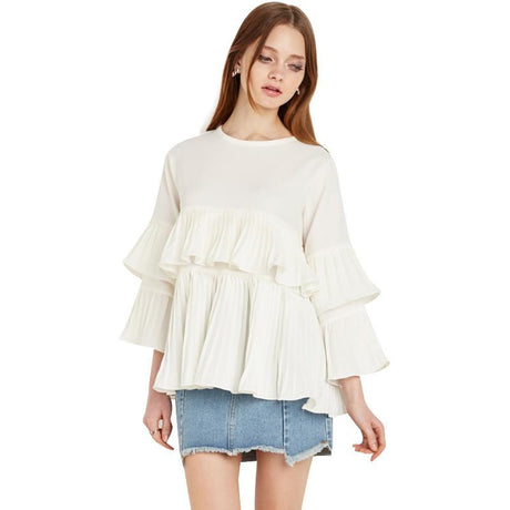 Ruffles Long Sleeve Shirt