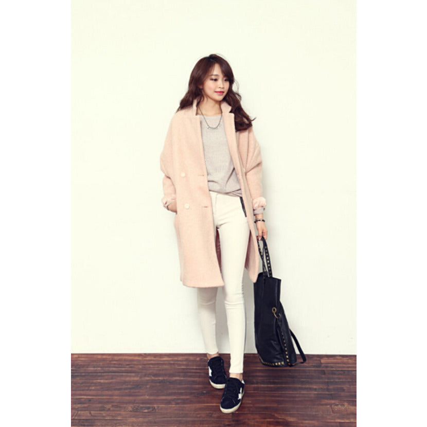 Oversized Loose Wool Coat jackets & coats, Arissa : Kandis , Arissa : Kandis