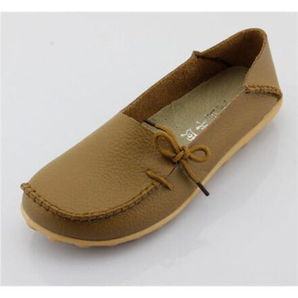 Genuine Leather Casual Flats Flats, Arissa : Kandis , Arissa : Kandis