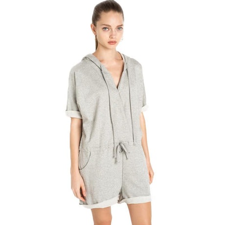 Hooded Sweatshirt Romper