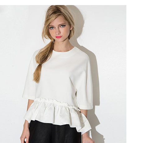 Ruffles Bottom Shirt