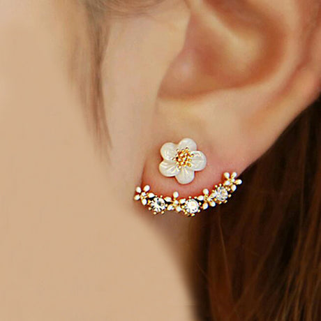 Small Daisy Flowers Earrings Jewelry, Arissa : Kandis , Arissa : Kandis