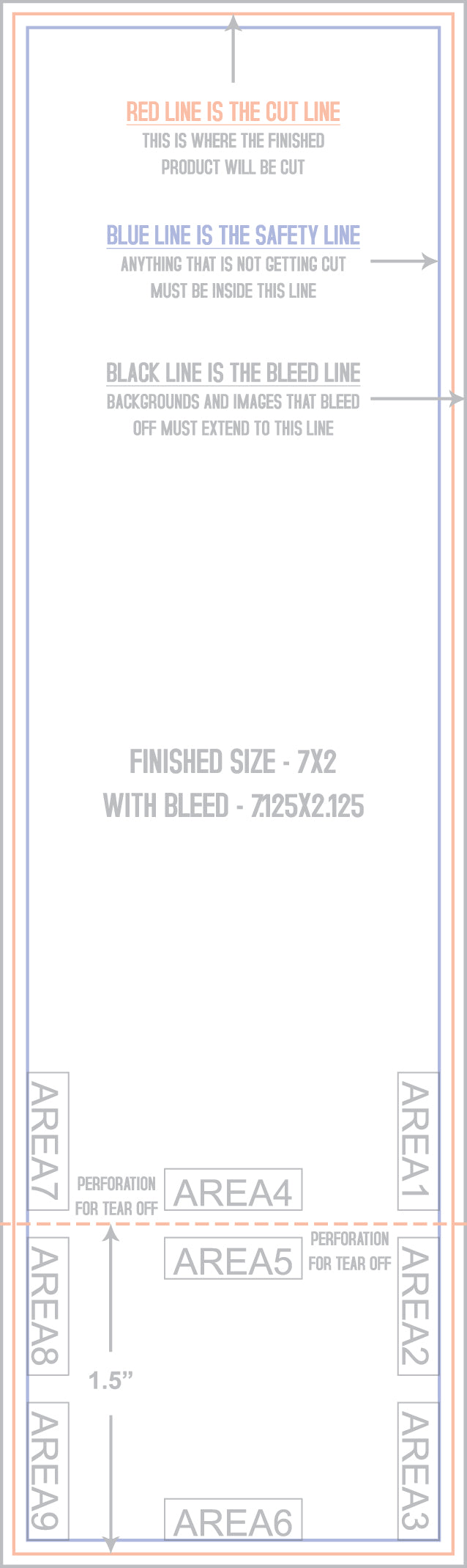 x event tickets numbering printkeg 2x7 template front