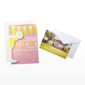 Invitations and Notecard Printing With Envelopes