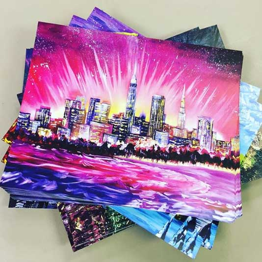 Beautiful colors on these 11x14 prints