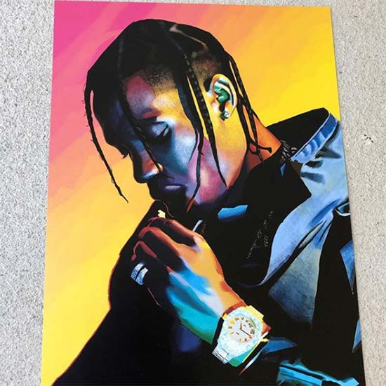 11x17 poster print of hip hop icon