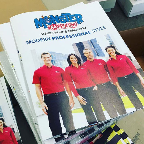 11x17 brochure print for monster ink printing